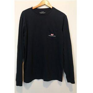 Vineyard Vines Long Sleeve T-shirt, Unisex Small